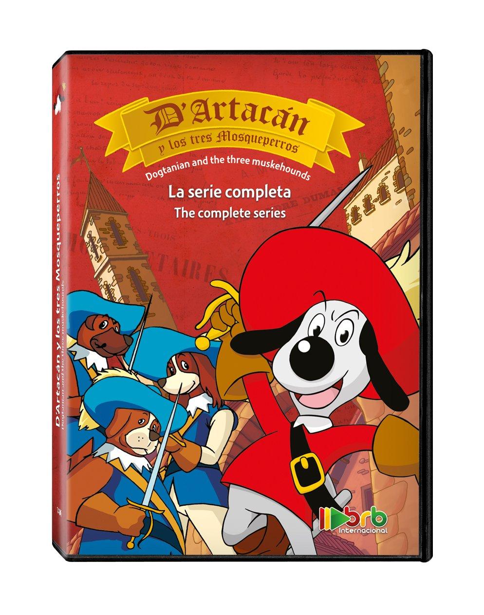 DArtacán y los tres mosqueperros [DVD]: Amazon.es: Personajes ...