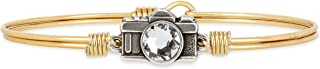 product image for Luca + Danni   Camera Bangle Bracelet For Women Made in USA