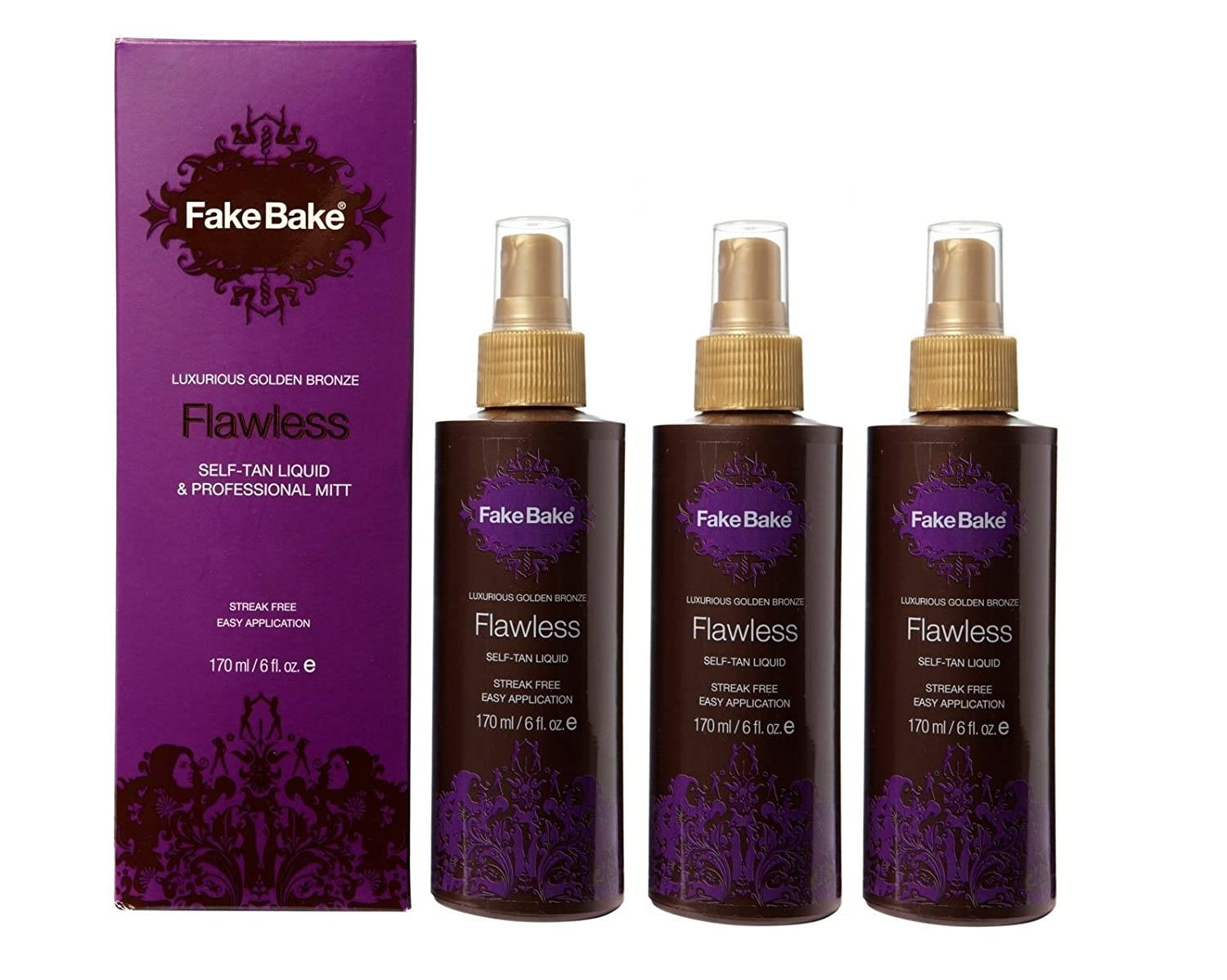 Amazon : Fake Bake Flawless, 6 Floz : Self Tanning Products : Beauty