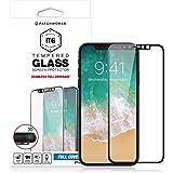 Patchworks iPhone X ガラスフィルム ITG 3D Full Cover ブラック 【 9H 高品質 オンライン専用パケ 】 アイフォン X ガラスフィルム