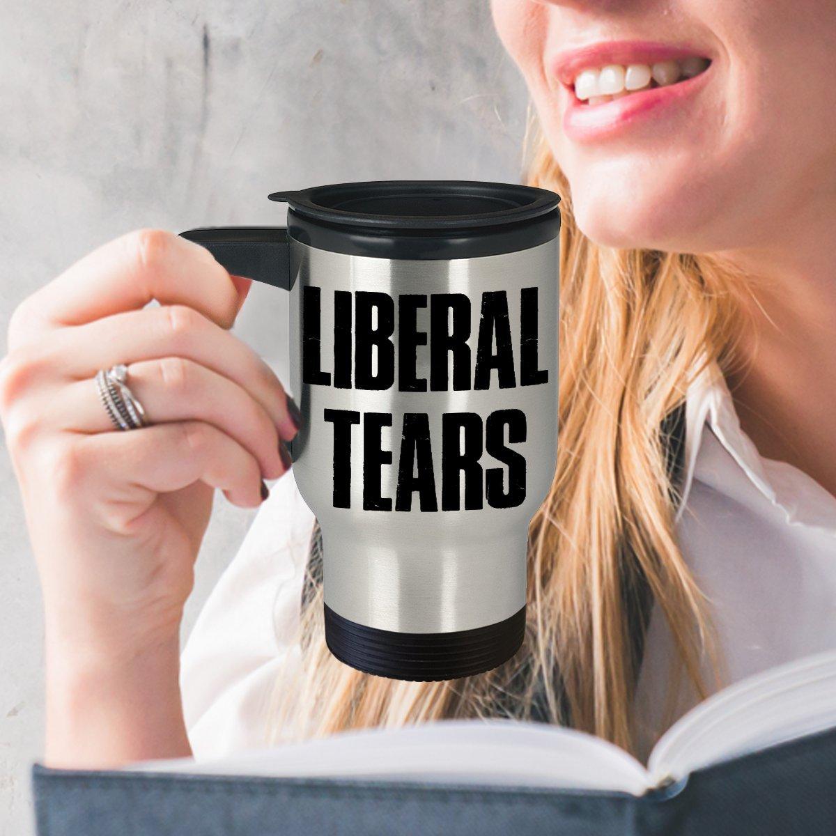 f5c979de67 Amazon.com  Liberal Tears Mug - Leftist Democrat Crying Cup