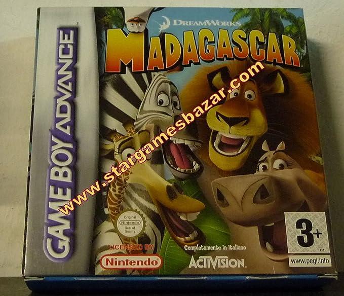 Activision Madagascar Gba Game Boy Advance Ita Video Juego Gba