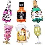 MissGood Globos Hawaianos Champagne Copa de Vino Cerveza ...