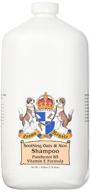 Crown Royale 0005011 Soothing Oats and Aloe Pet Shampoo, 1 Gallon