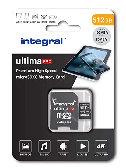 Tarjeta de Memoria Micro SD 4K Ultra HD Video Premium de ...