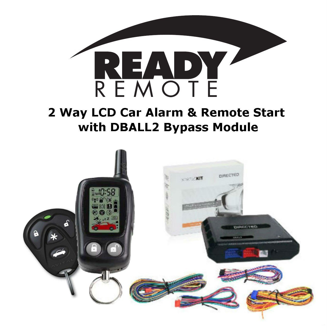 71OfNTqB3uL._SL1296_ amazon com ready remote 5303r 2 way car alarm & remote starter w Dball2 Wiring-Diagram Intelli Key Nissan Armada at couponss.co