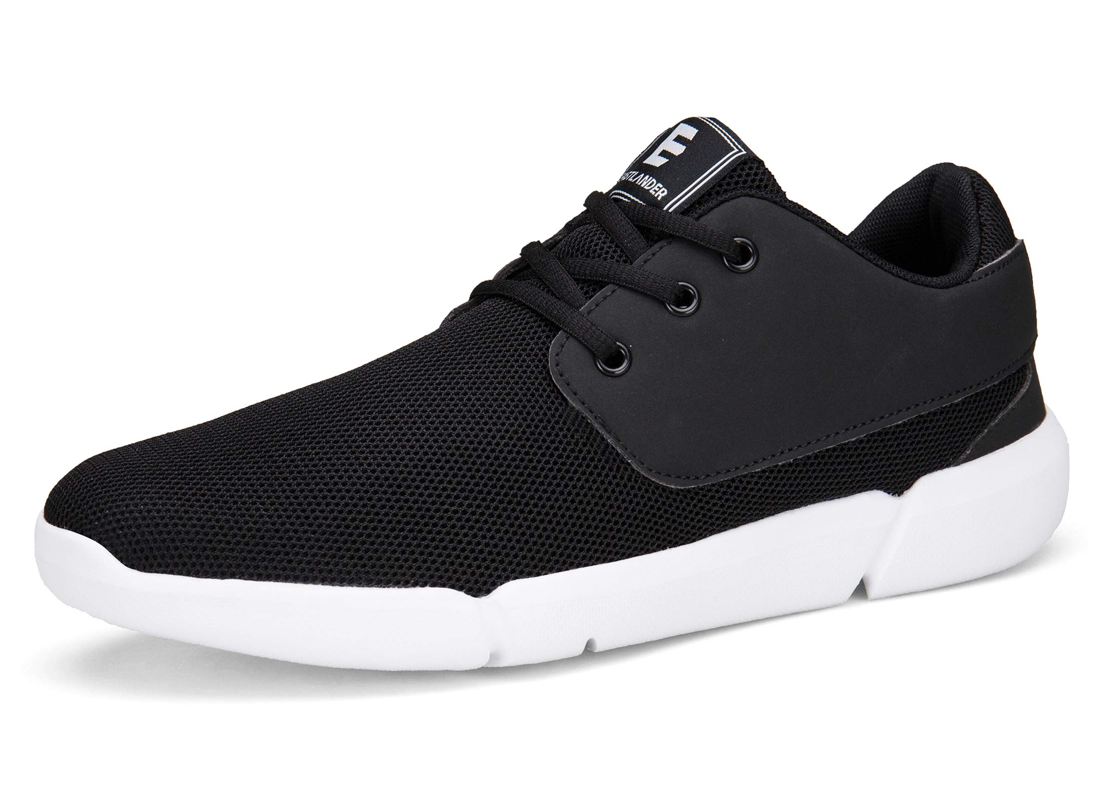 EAST LANDER Walking Shoes Men Casual Sneakers Lightweight Athletic Shoes Lace-up Running Sports Shoes SPT001-M5-42