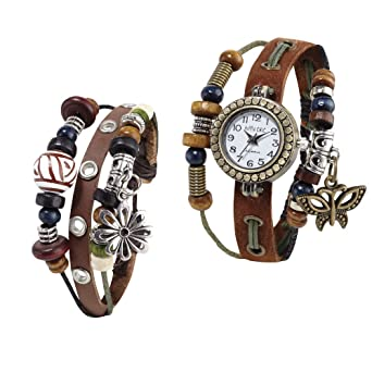 Boho Watch and Bracelet Set