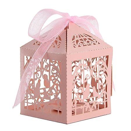 WedDecor Pequeño Cajas para Detalles Corte Láser Diseño ...