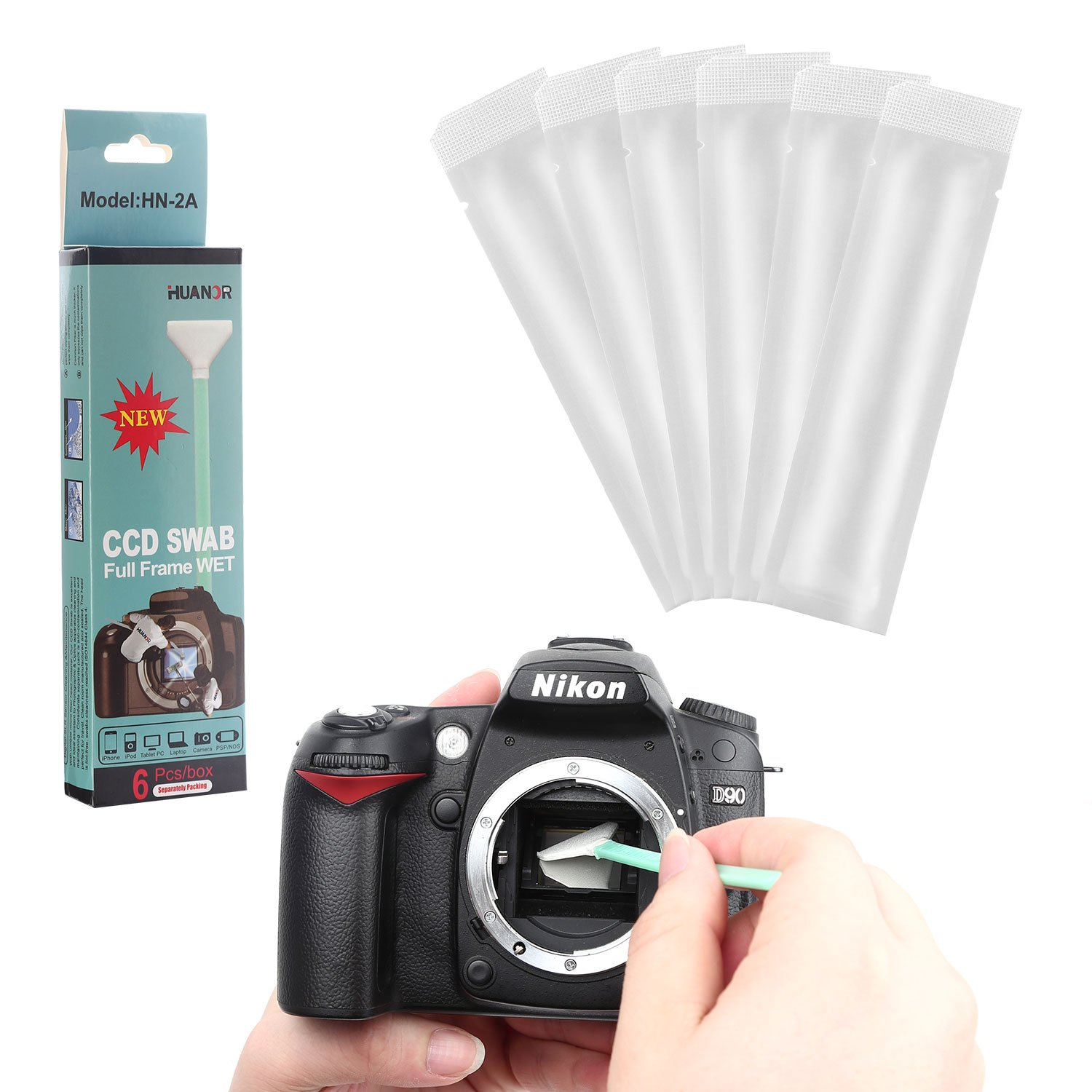 Amazon.com : Digital Camera Sensor Cleaning Kit for Full-Frame ...