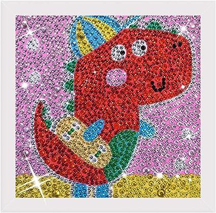 DIY Full Drill Special Shaped Diamond Painting Animal Cross Stitch Children Gift