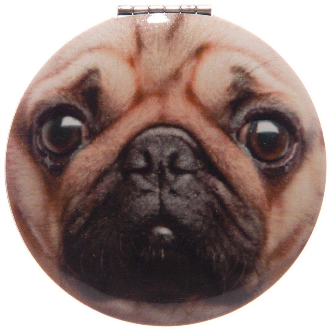 Fun Pug Design Compact Mirror Puckator