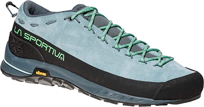 La Sportiva TX2 Leather Woman, Zapatillas de Senderismo para Mujer, Multicolor (Stone Blue/Jade Green 000), 37 EU: Amazon.es: Zapatos y complementos