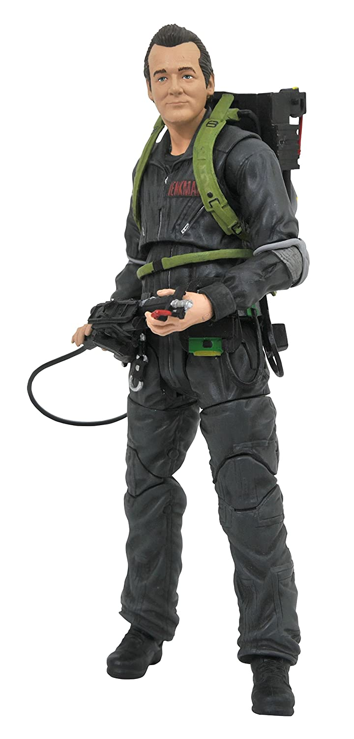 DIAMOND SELECT TOYS Ghostbusters 2 Select: We're Back Peter Venkman Action Figure