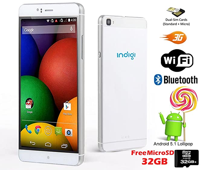 Indigi® Nuevo 2016 3 G Smartphone phablet 6.0