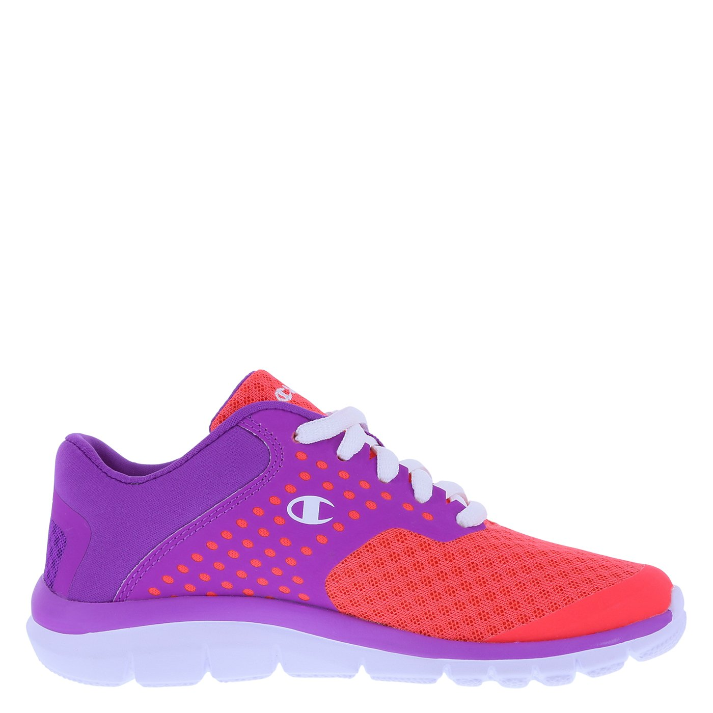 51fa9e4e426 Galleon - Champion Girls  Coral Purple Girls  Gusto Cross Trainer 2 Regular