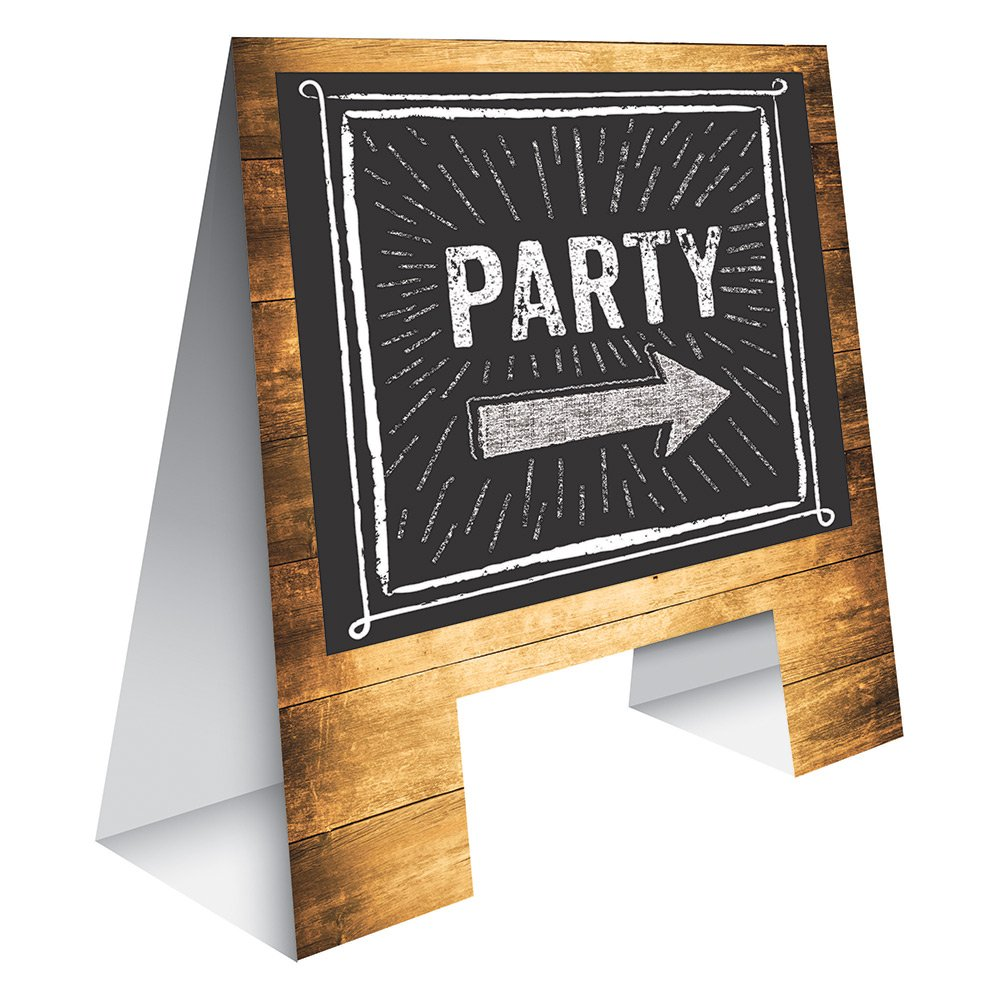 Creative Converting 325082 Here's the Party Sign, Here's the Party Sign by Creative Converting