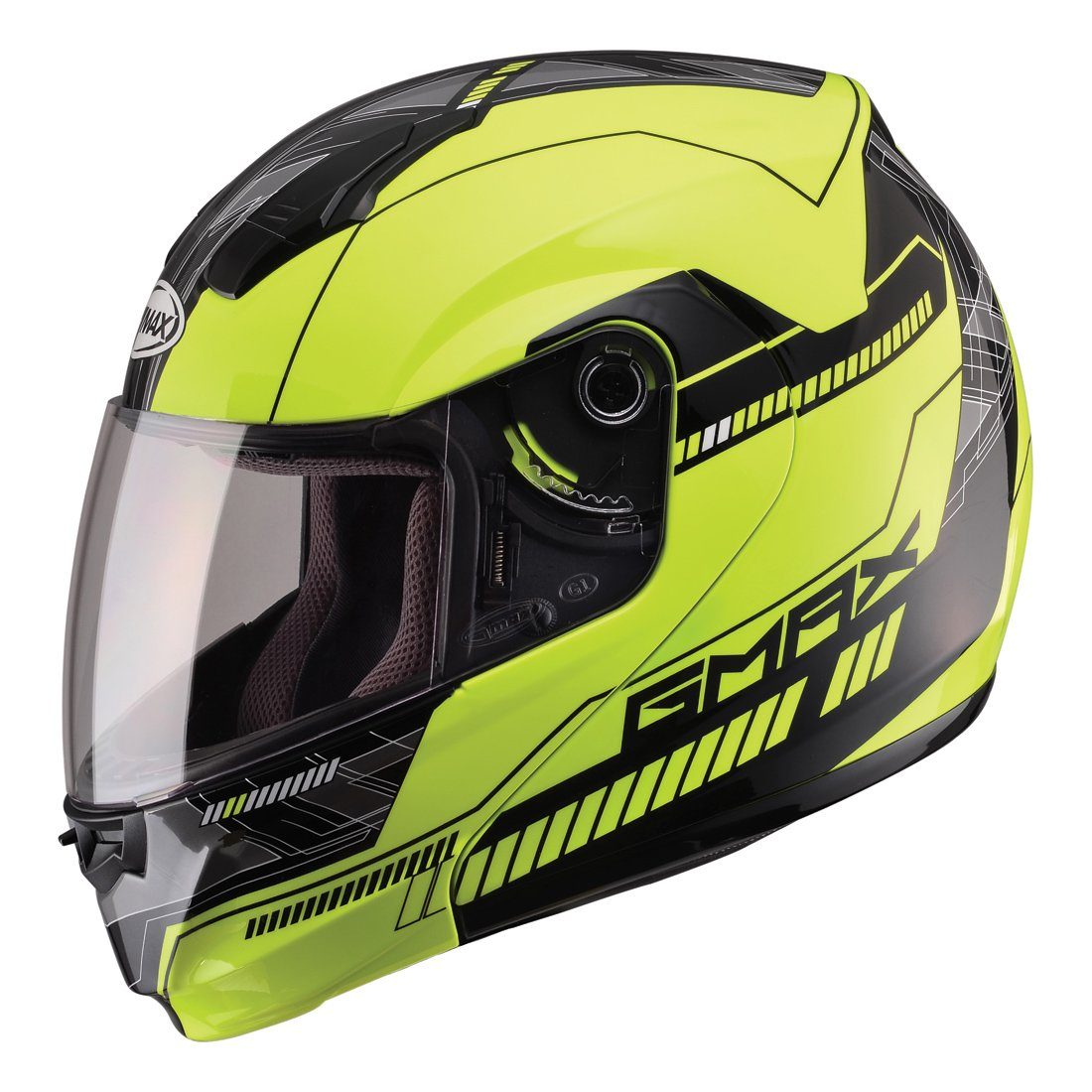 GMAX Unisex-Adult Full-face Style G1041689 TC-24 04 Modular Street Helmet Hi-Vis Yellow//Black 3x XXX-Large G1041689TC-24
