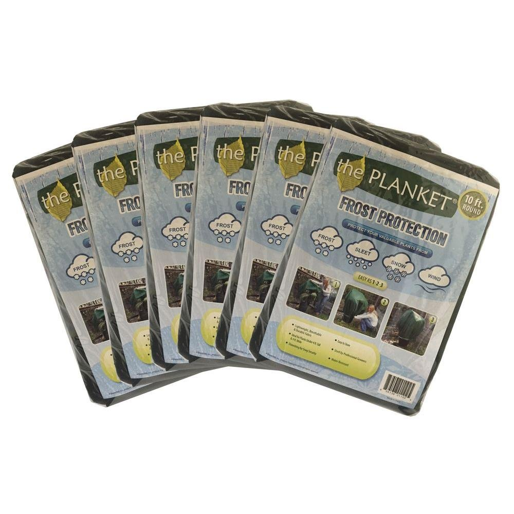 Planket 10 ft. Round Plant Protection Value Pack (6-Pieces)