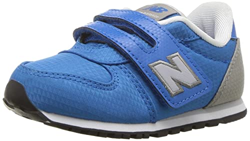 New Balance Boys KA311BMI Fabric Low Top Velcro Blue Size TODDLER 8 WIDE