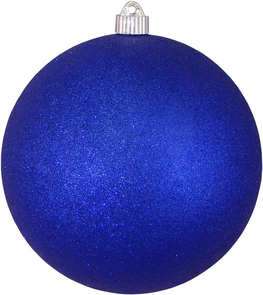 Christmas By Krebs Giant Commercial Grade Indoor Outdoor Moisture Resistant Shatterproof Plastic Ball Ornament, 8