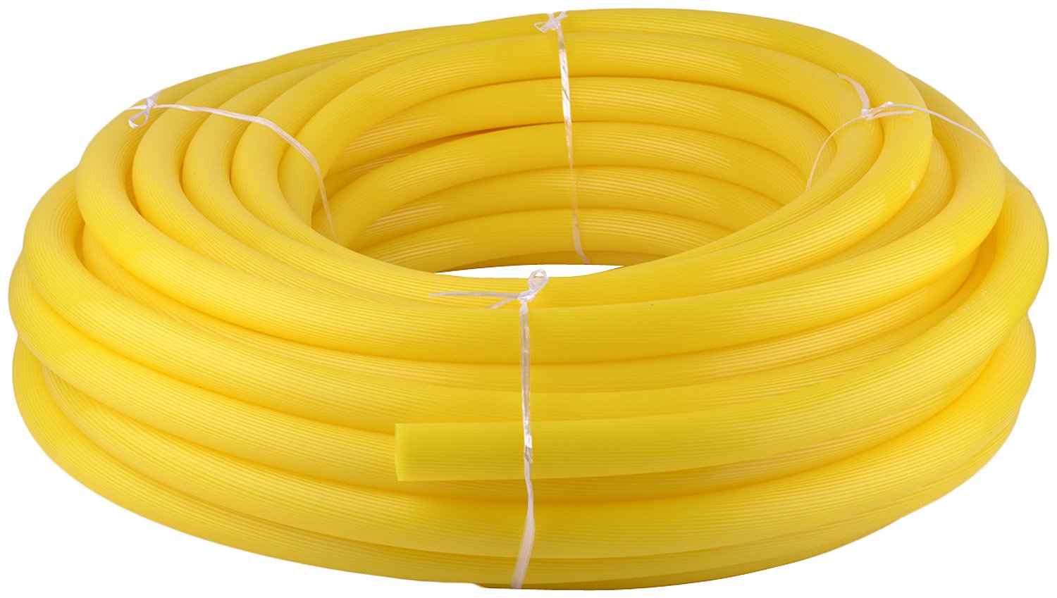 Qualsell Agri Flexible Ribbed Garden Water Hose Pipe (Sunlight Resistant)  Polymer Yellow 1 Inch 30 Meters: Amazon.in: Garden & Outdoors