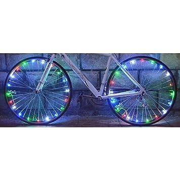 Wheelight LED Fahrradspeichenlicht Speichen Licht Fahrradlicht ...