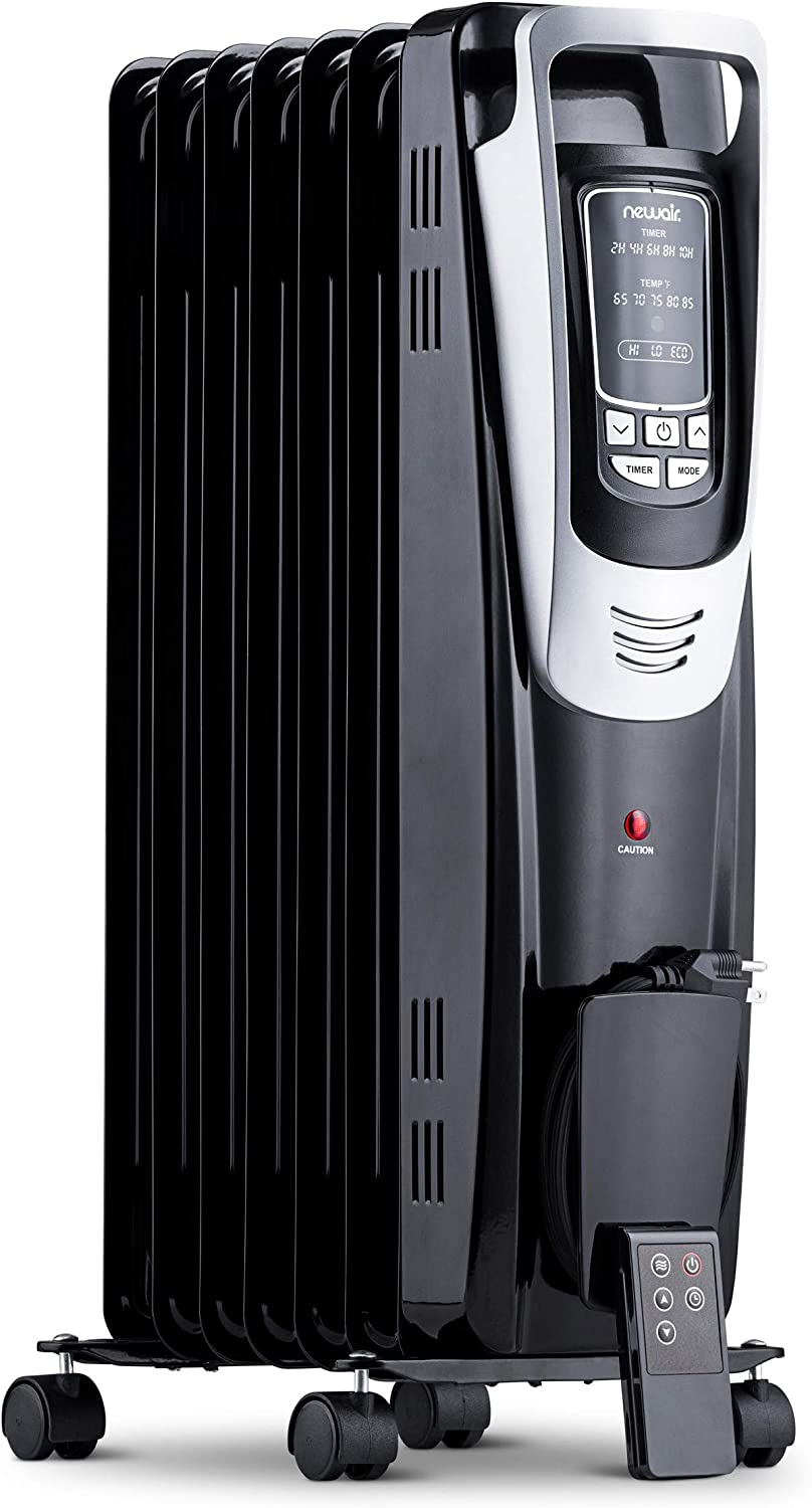 NewAir Electric Oil-Filled Space Heater, Indoor Personal Heater