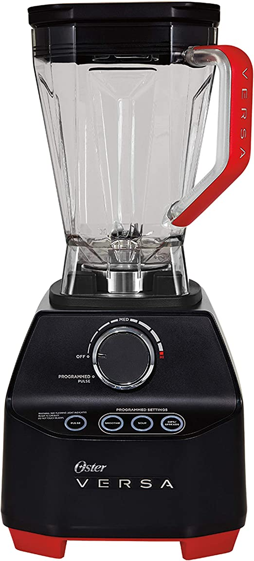 Oster Versa Performance Blender, Black/Red by SuperFood: Amazon.es ...