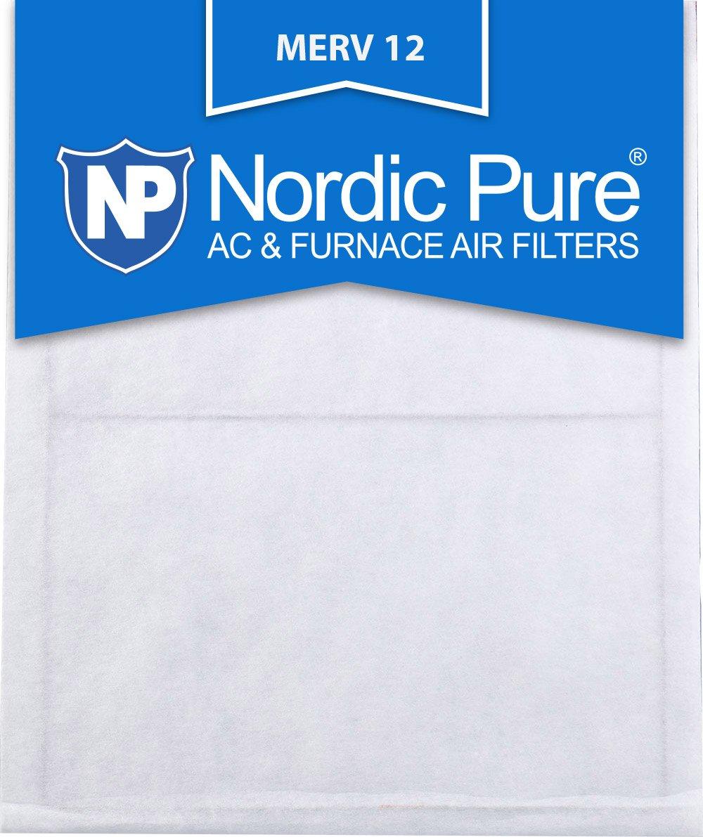 Nordic Pure 16 x 25 x _ 1 / 2 _ m12 – 6 1 / 2インチエアフィルタMERV 12、ボックスの6 B009SK5QEI