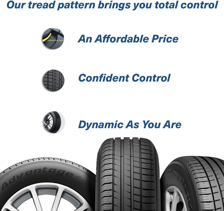 BFGoodrich Advantage T//A Sport All-Season Radial Tire-205//60R16 92H