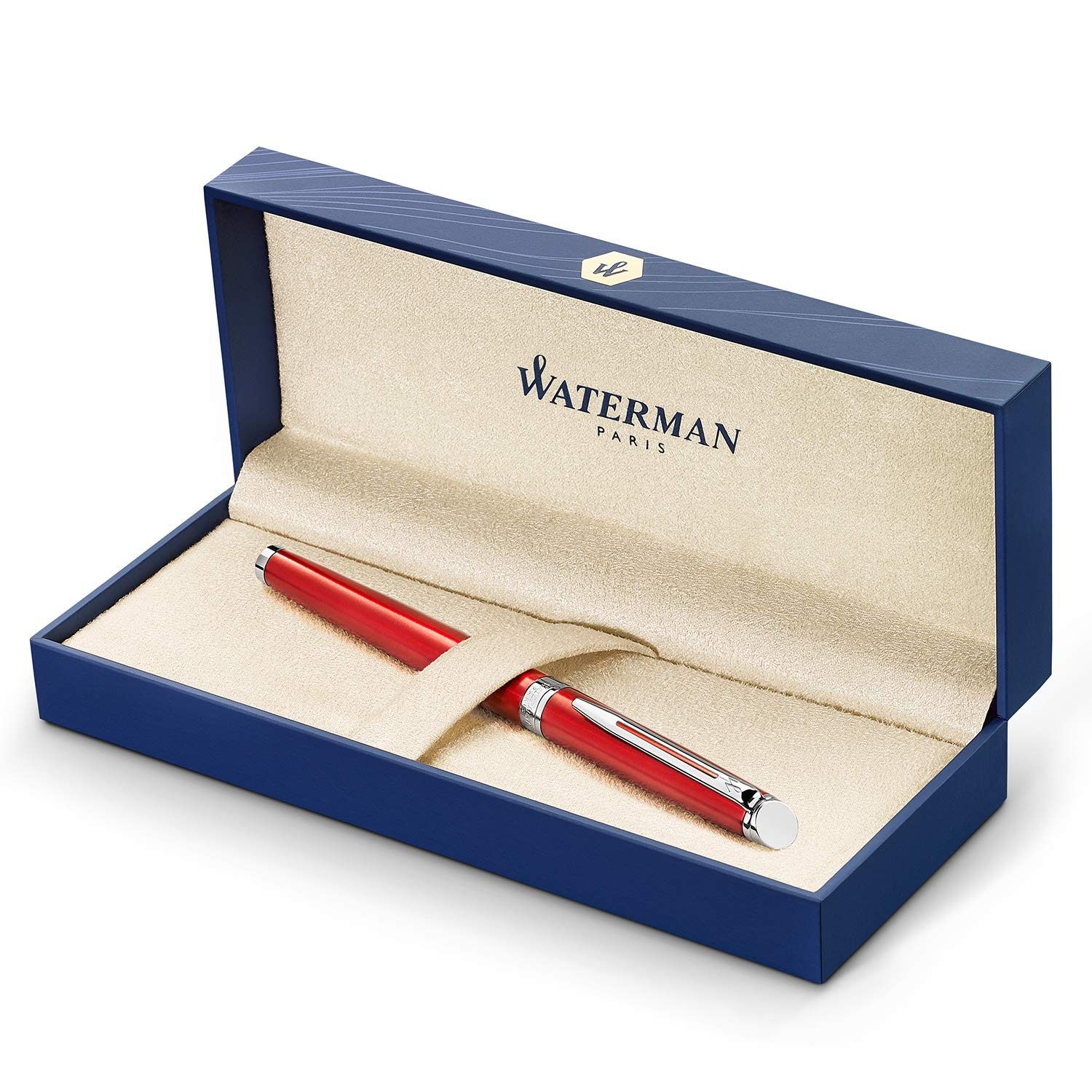 Waterman Hemisphere Rollerball Pen Fine Point with Black Ink Cartridge (2043213)