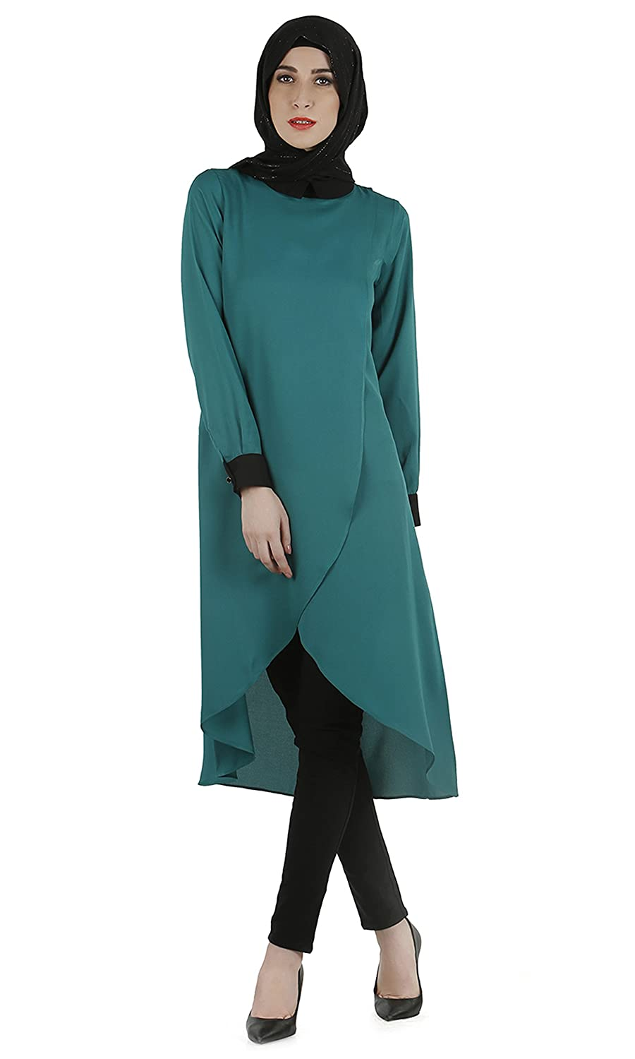 Modest Forever Overlapped panel tunic modestforever