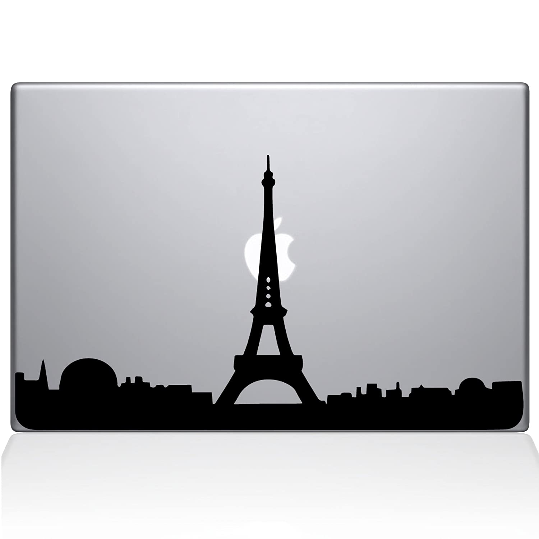 The Decal Guru 2070-MAC-15P-BLA Paris City Skyline Decal Vinyl Sticker, Black, 15' MacBook Pro (2015 & Older) 15 MacBook Pro (2015 & Older) The Decal Guru -- Dropship