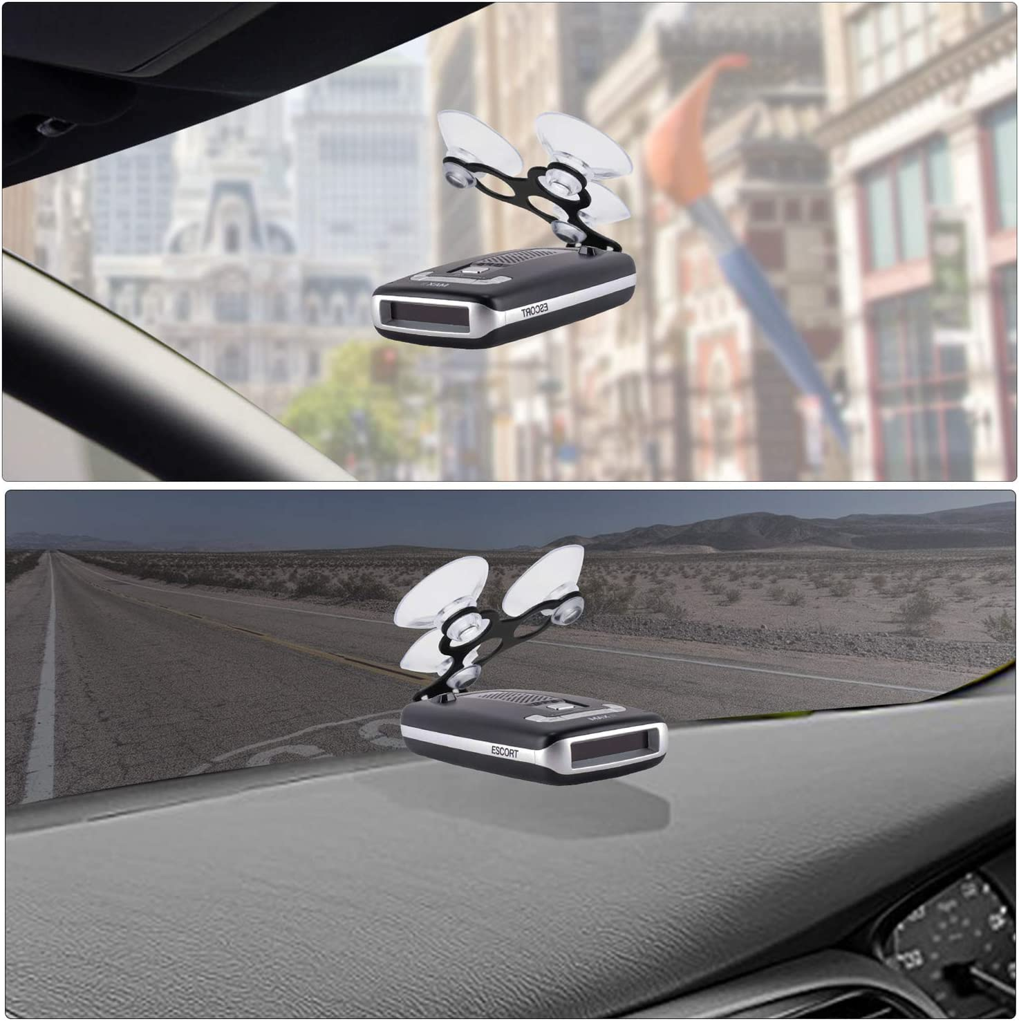 MvToe Radar Detector Suction Cup Mount Holder Compatible with Escort MAX Not for MAX360C Cradle Radar MAX360 Max 2