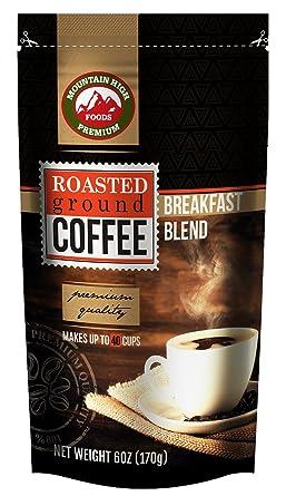 Mountain High Coffee Bolsas de café de 6 onzas cuenta 12 ...
