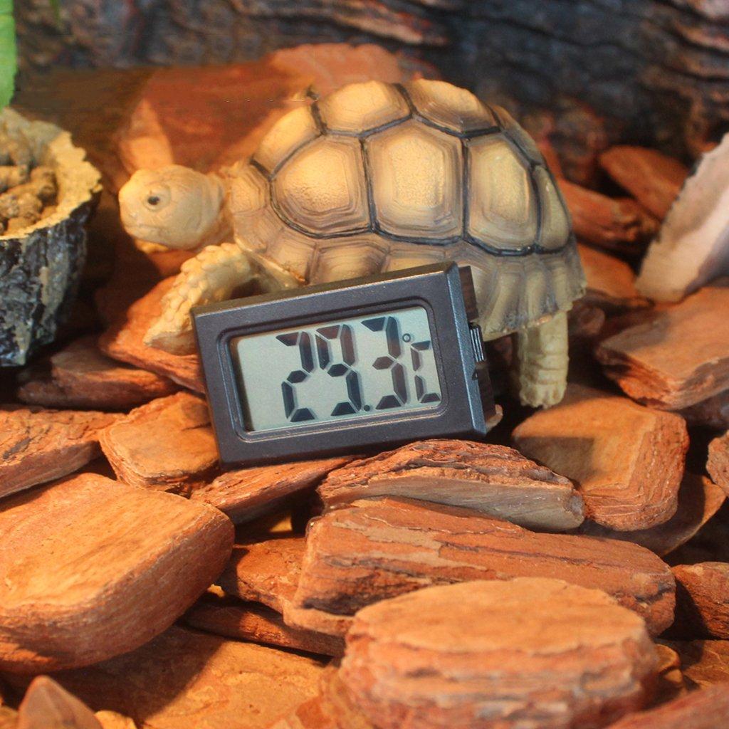 KESOTO Thermomètre sans Fil de Reptile Lizard Incubator