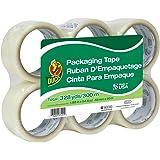 Duck Brand Standard Packaging Tape Refill, 6 Rolls, 1.88 Inch x 54.6 Yard, Clear (240053)
