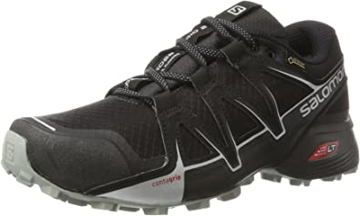 Salomon Speedcross Vario 2 GTX Calzado de Trail Running, Hombre, Negro (Phantom/Black/Monument), 44 2/3 EU: Amazon.es: Zapatos y complementos