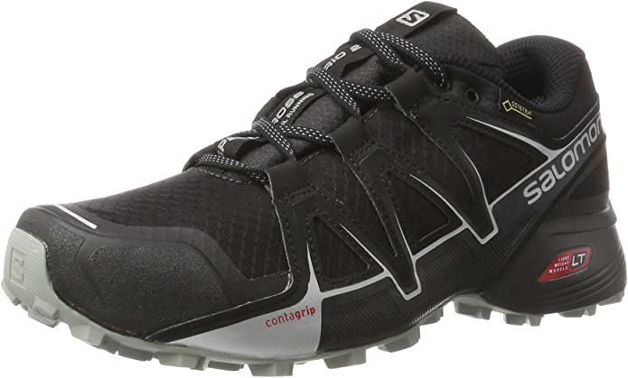 Salomon Speedcross Vario 2 GTX Calzado de Trail Running, Hombre, Negro (Phantom/Black/Monument), 44 2/3 EU: Amazon.es: Zapatos y complementos