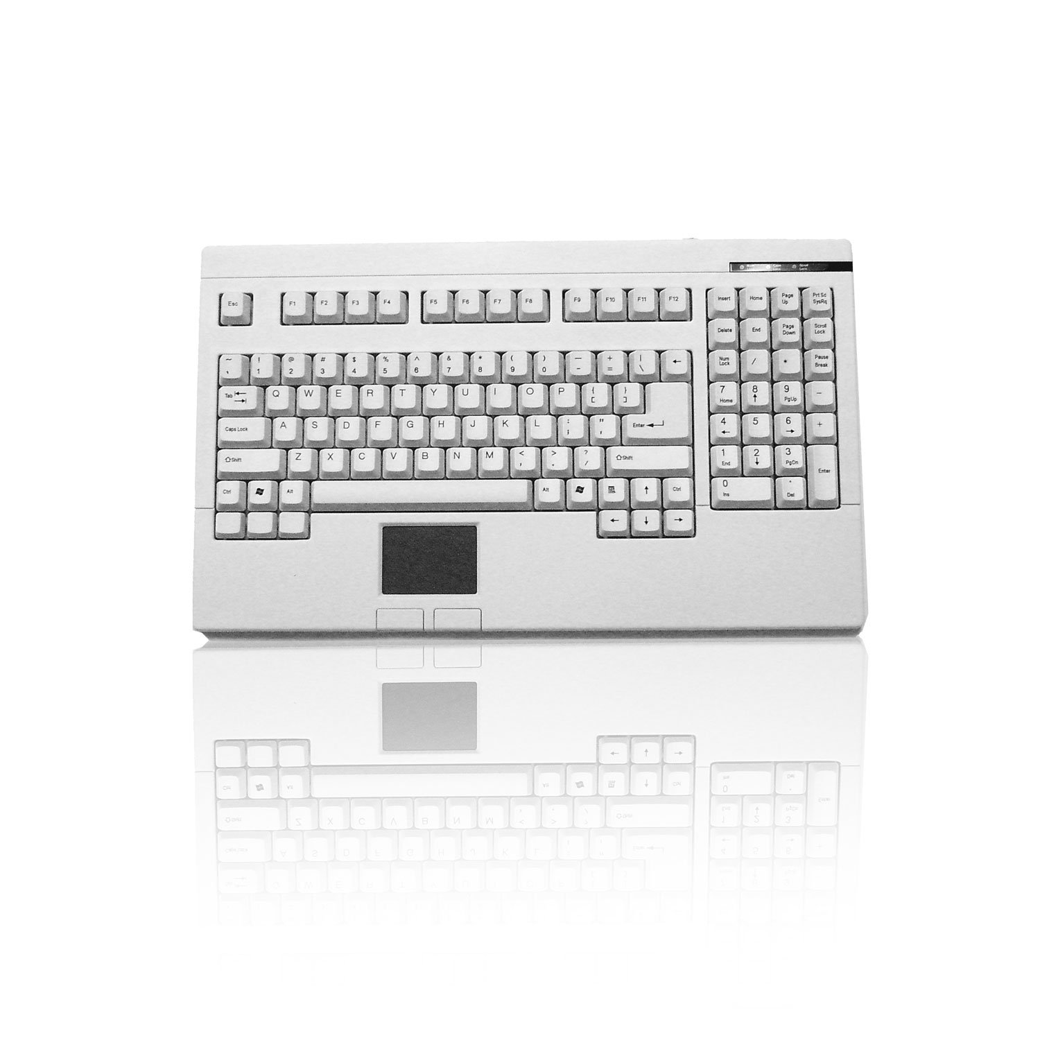Adesso Easy-touch Keyboard, White (ACK-730UW-00)