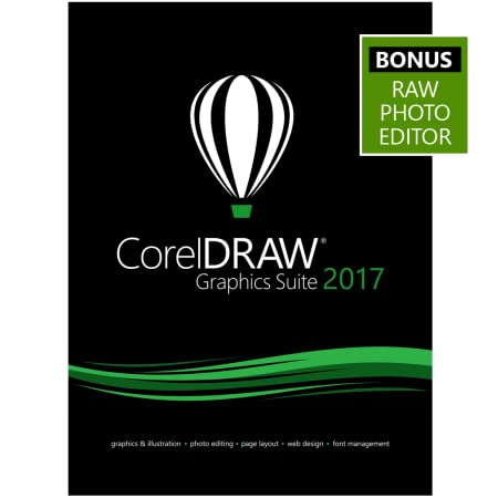 CorelDRAW Graphics Suite 2017 Upgrade - Amazon Exclusive - Includes RAW Photo Editor [Download]