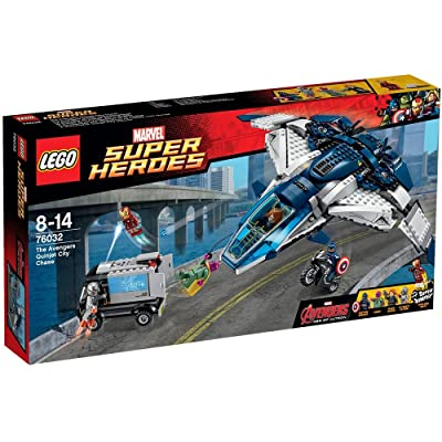 LEGO Marvel Super Heroes The Avengers Quinjet City Chase Set | PN 76032: Toys & Games