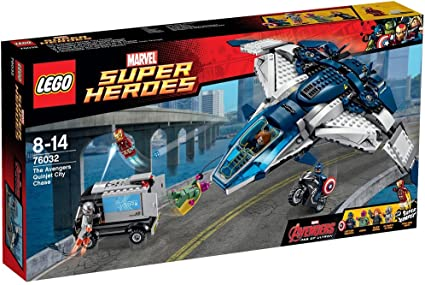 LEGO Super Heroes 76032 the Avengers Quinjet City Chase STICKER SHEET