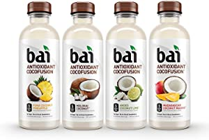 Bai Cocofusions Antioxidant Infusion Coconut Drink Variety Pack Bottled Beverage: 15 Pack (18 oz.)