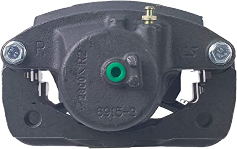 Brake Caliper Unloaded Cardone 19-B2645 Remanufactured Import Friction Ready