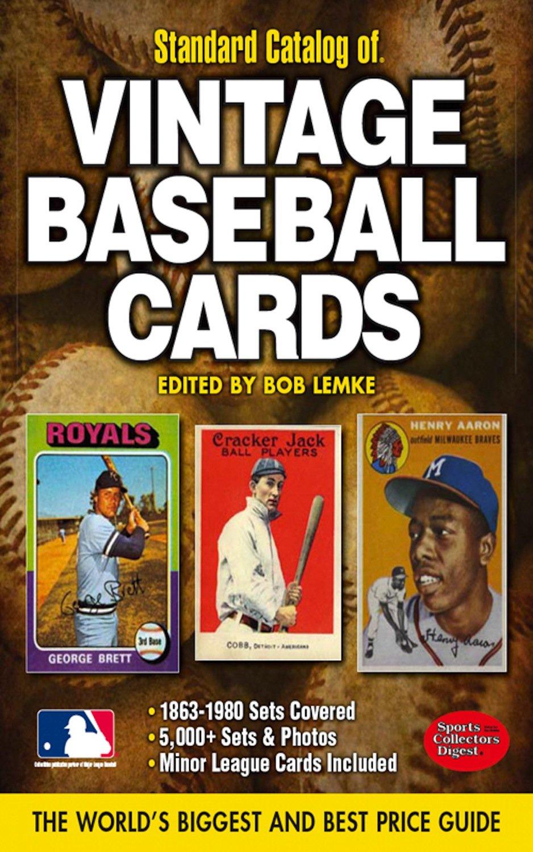 Standard Catalog Of Vintage Baseball Cards 2012 Standard Catalog