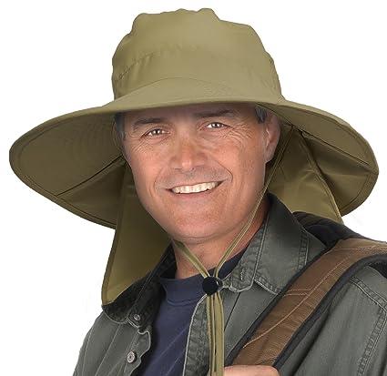 Sun Blocker - Sombrero de Pesca para Hombre 37565fd6c802