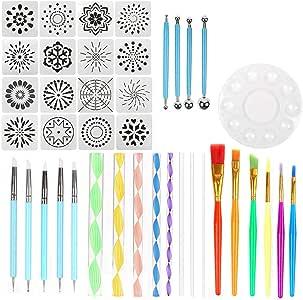Multi-Color dp Craft 7,5 cm de Jennifer ellory Oval