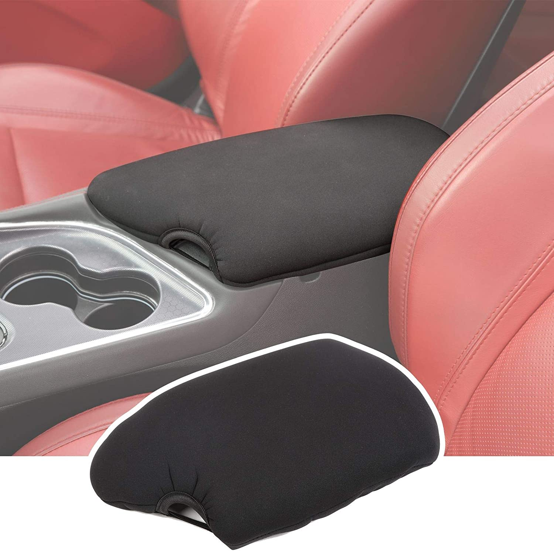 JeCar Center Console Cover Armrest Pad for 2014-2020 Dodge Challenger